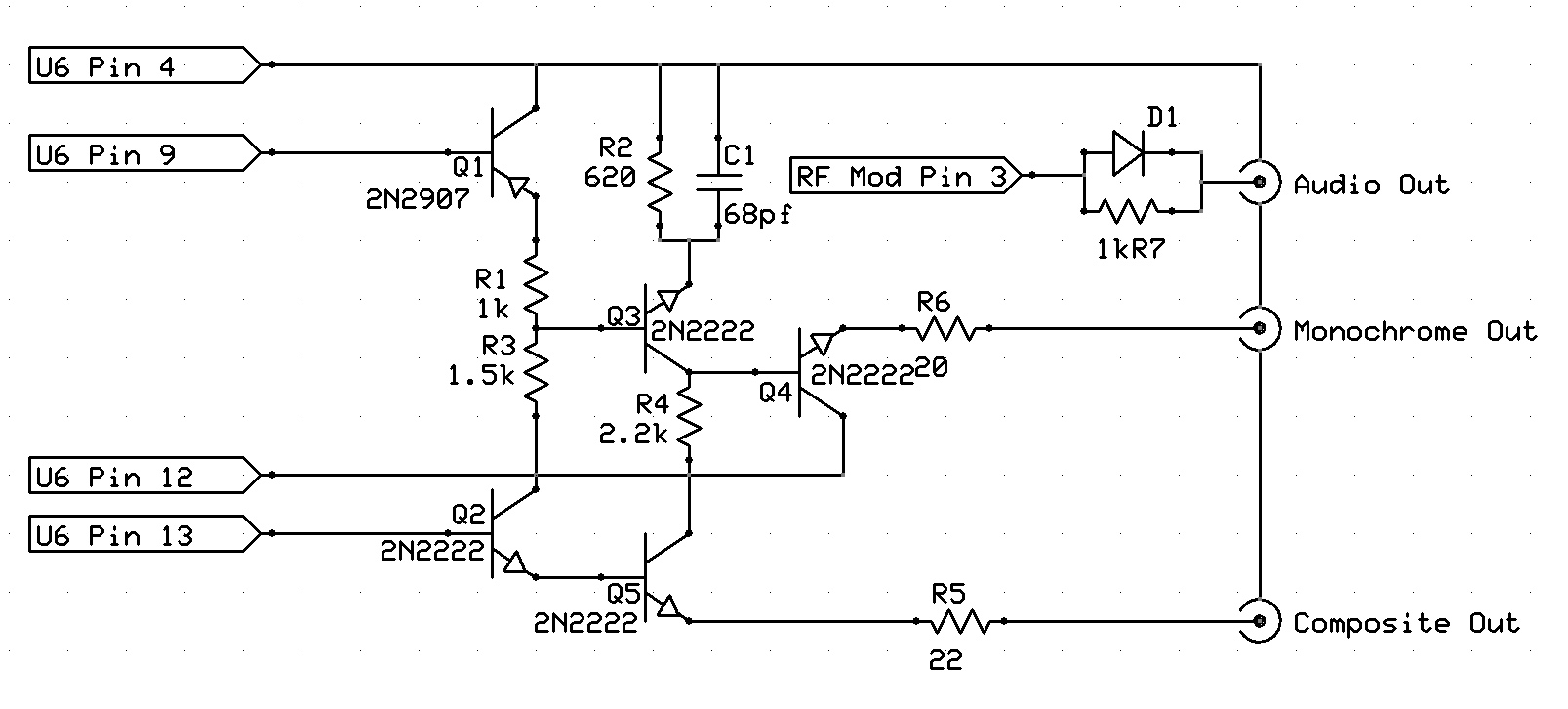 Other Bob Composite Video Schematic